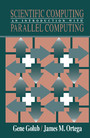 Scientific Computing - An Introduction with Parallel Computing