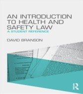 Introduction to Health and Safety Law - A Student Reference