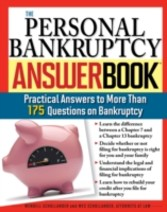 Personal Bankruptcy Answer Book - Practical Answers to More than 175 Questions on Bankruptcy